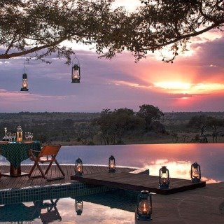 four seasons serengeti sunset view